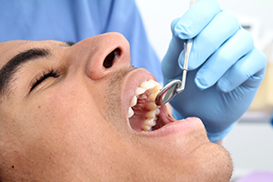 Dental exams and teeth cleanings